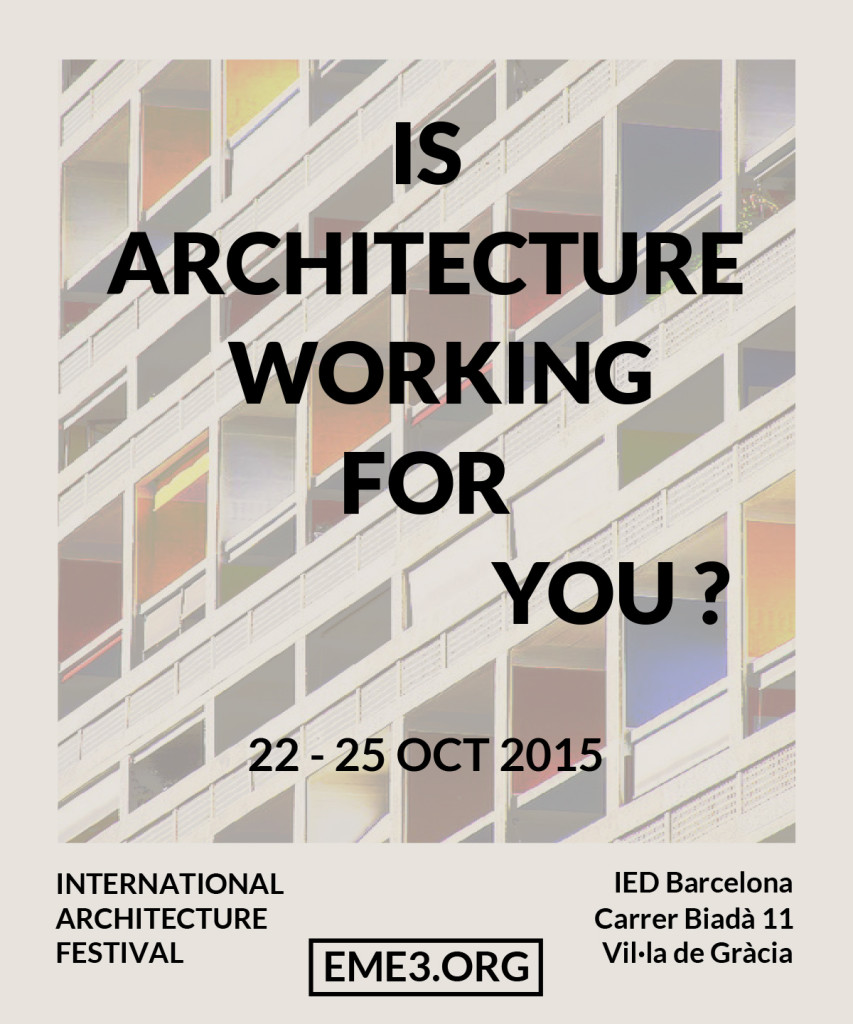 IS ARCHITECTURE WORKING FOR YOU