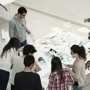 ELENA FARINI + ALUMNOS ARQUITECTURA UFV | FROM THE CLASSROOM TO THE STREET: CO-EXISTENCES | EME3_2013