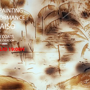 FIRE PAINTING |PARAÍSO | 26TH JULY
