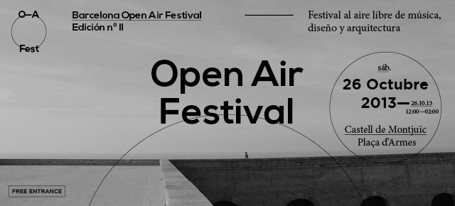 OPEN AIR II | 26 OCTOBER
